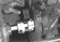 Hayes Coupling checked with drive insert