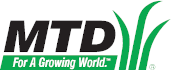 MTD Logo outdoor power equipment parts